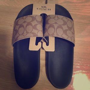 Brand New Coach Sandals size 11 women size 9 men
